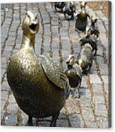 Make Way For Ducklings Acrylic Print