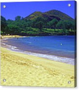 Makena Beach Maui Hawaii Acrylic Print