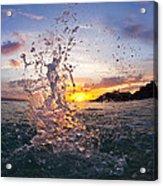 Makena Splash Acrylic Print