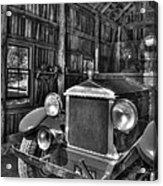 Maker's Mark Firehouse 2 Bw Acrylic Print