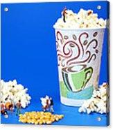 Making Popcorn Acrylic Print