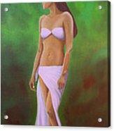Mala Wahine Acrylic Print