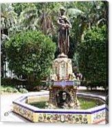 Malaga Art Deco Sculpture Acrylic Print