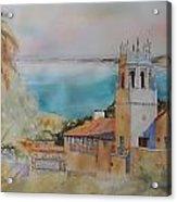 Malaga Cove Acrylic Print