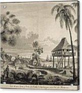 Malaspina Expedition. Philippines 1792 Acrylic Print
