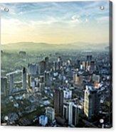 Malaysia Aerial Acrylic Print