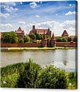 Malbork Castle Acrylic Print