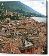 Malcesine Lake Garda Acrylic Print