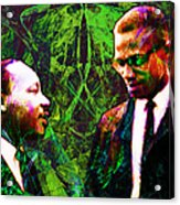 Malcolm And The King 20140205p68 Acrylic Print