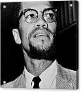 Malcolm X Acrylic Print