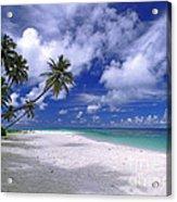 Maldives 03 Acrylic Print by Giorgio Darrigo