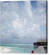 Maldives Acrylic Print