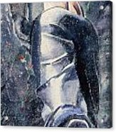 Male Figure Acrylic Print