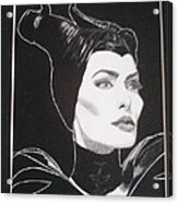 Maleficent2 Acrylic Print