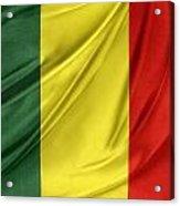 Mali Flag Acrylic Print