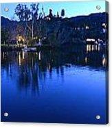Malibu Lake Soft Focus Acrylic Print