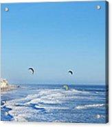 Malibu Surfing  Acrylic Print