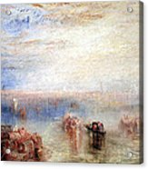 Turner's Approach To Venice Acrylic Print