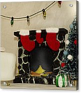 Mallow Christmas Acrylic Print