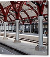 Malmo Train Station Acrylic Print