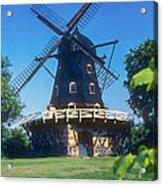Malmo Windmill Acrylic Print