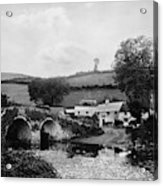 Malmsmead Bridge, C1900 Acrylic Print