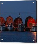 Malpeque Harbor After Sunset Acrylic Print
