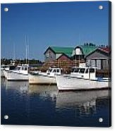 Malpeque Harbor Early Evening Acrylic Print