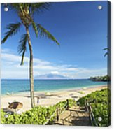 Maluaka Beach Park Acrylic Print