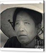 Mama San Pleiku Central Highlands Vietnam 1968 Acrylic Print