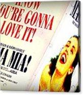 Mamma Mia Acrylic Print