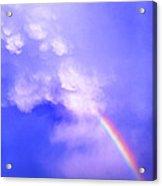 Mammatus Rainbow Of New Mexico Acrylic Print