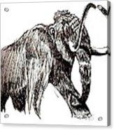 Mammoth Acrylic Print