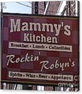 Mammy's Kitchen In Bardstown Kentucky Acrylic Print