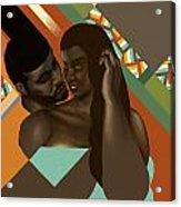 Man And Woman Acrylic Print