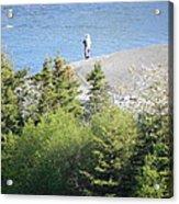 Man Fishing  Acrylic Print