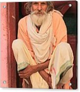 Man From India Acrylic Print