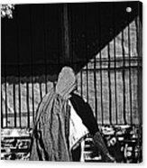 Man In The Street Acrylic Print