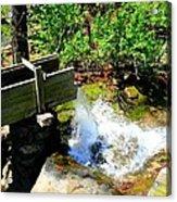Man Made Waterfall V2 Acrylic Print