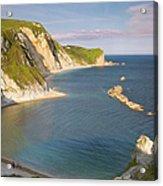 Man O' War Cove - Dorset Acrylic Print