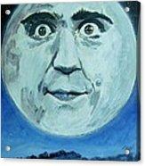 Man On The Moon Acrylic Print