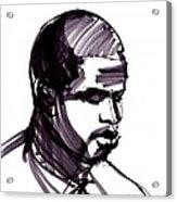 Man Portrait Acrylic Print