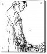 Man Standing Acrylic Print