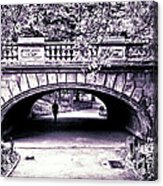 Man Under The Bridge Acrylic Print