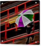Man Under Umbrella Acrylic Print