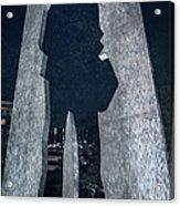 Man With A Briefcase Acrylic Print