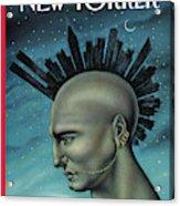 Mohawk Manhattan Acrylic Print