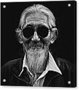 Man With White Beard Acrylic Print