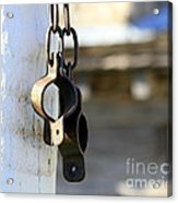 Manacles At The Old Fort Acrylic Print