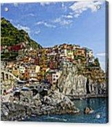 Manarola Italy Dsc02563  Acrylic Print